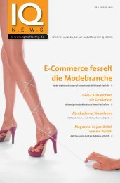 E-Commerce fesselt die Modebranche - Now! Communication