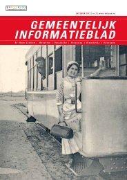 informatieblad oktober 2012 - De Haan