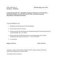 9. Sitzung 20.11.2012 - Gemeinde Dornburg