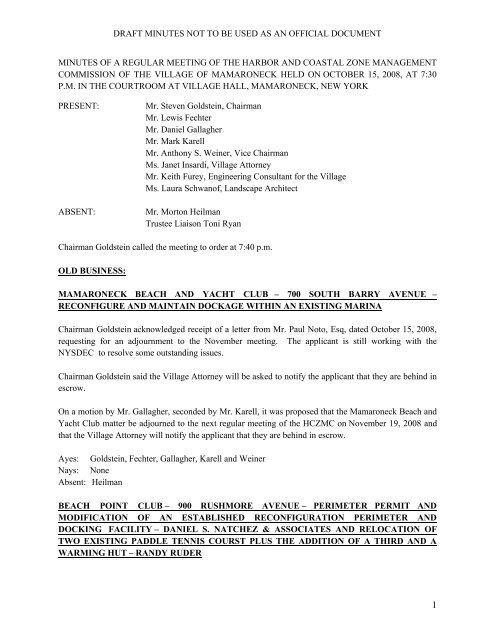 draft of adjournment application
