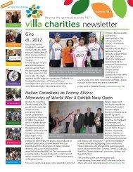 2008 Annual Report Villa Charities