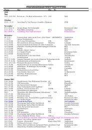 Veranstaltungskalender 2010/11 Stand 13.12 ... - der Stadt Ahlen