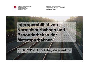 Referat Toni Eder - Wer ist RAILplus