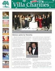 Venice came to Toronto - Villa Charities