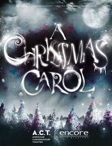 A Christmas Carol - American Conservatory Theater