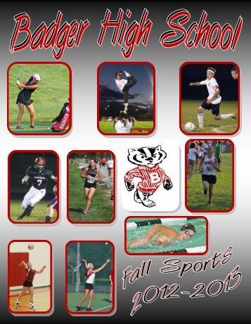 Fall Sports - Badger High School
