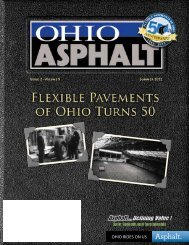 download: Summer 2012 - Flexible Pavements of Ohio