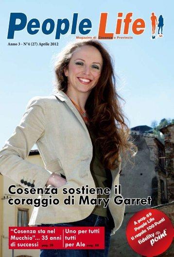 Cosenza sostiene il coraggio di Mary Garret - People Life Magazine