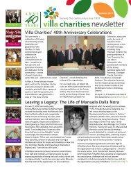 Thank you! Grazie! - Villa Charities
