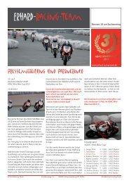 Vorschau - Erhard-Racing-Team