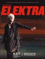 Elektra - American Conservatory Theater