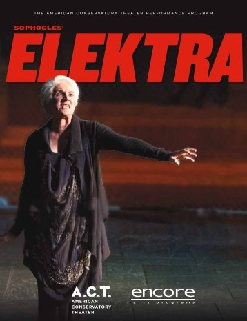 Elektra - American Conservatory Theater