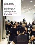Seminar brochure - Connectez-vous - Log-in - Page 6