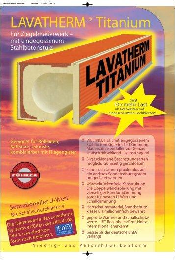 LAVATHERM® Titanium