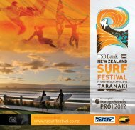 PRO I 2012 - TSB Bank New Zealand Surf Festival