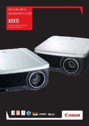 Mit den WUX5000 und WUX4000 werden die ... - Canon Deutschland