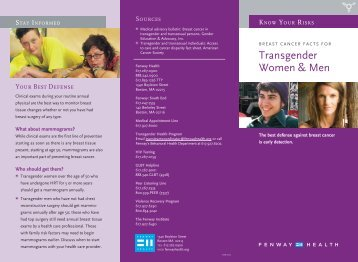 Transgender Women & Men - Fenway Health