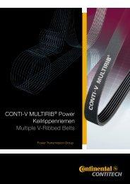 Technische Dokumentation CONTI-V® MULTIRIB