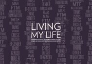 Living My Life - information for trans people (PDF - NHS Choices