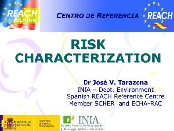 Risk characterization - reach