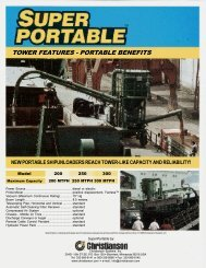 TOWER FEATURES - PORTABLE BENEFITS