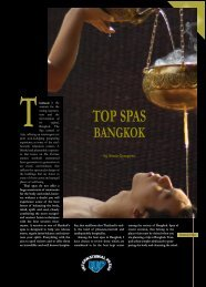 top spas bangkok - Sonia Travel Guides