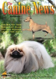 Canine News April/May 2012 - Dogs West
