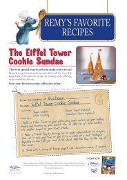 The Eiffel Tower Cookie Sundae The Eiffel Tower ... - A to Z Kids Stuff