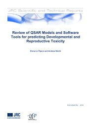 Review of QSAR Models and Software Tools for predicting ...