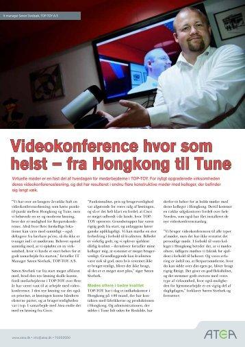 Videokonference hvor som helst – fra Hongkong til Tune - Atea