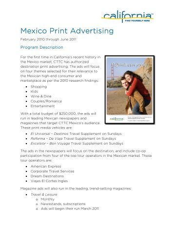 Mexico Print Advertising