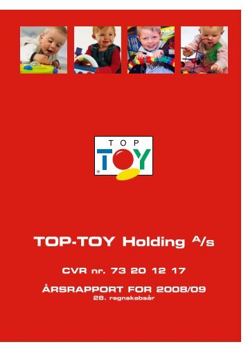 TOP-TOY Holding A/S CVR nr. 73 20 12 17 ... - Top1000.dk