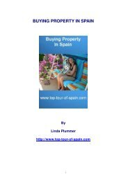 BUYING PROPERTY IN SPAIN - Top Tour of Spain