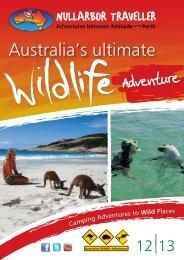 Adventures between Adelaide Perth - Nullarbor Traveller