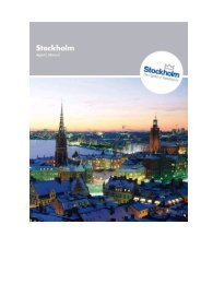 Stockholm Visitors Board at your service - Travel Agent Academy