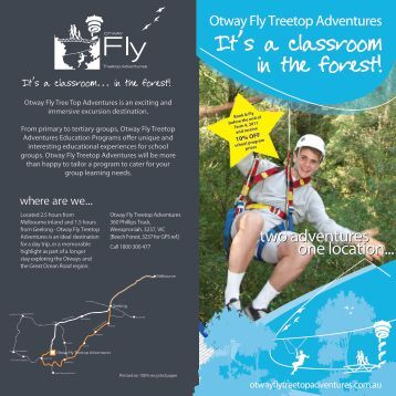 to download the ultimate school group - Otway Fly