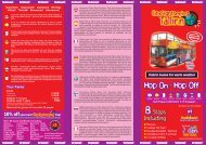 Timetable - City Sightseeing