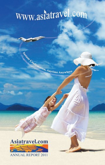 ANNUAL REPORT 2011 - Asia Travel