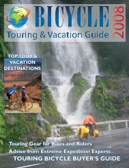 Touring Bike Review - Bicycle Touring and Vacation Guide