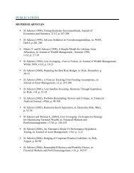 Publications Bernd Scherer - FTC