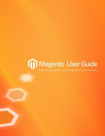 Magento User Guide - eCommWeb