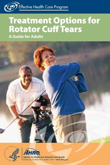 Treatment Options for Rotator Cuff Tears - AHRQ Effective Health ...