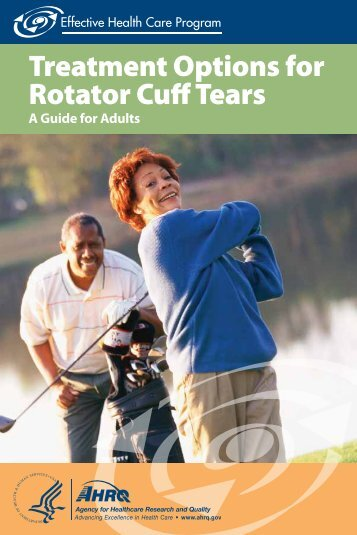 Treatment Options for Rotator Cuff Tears - AHRQ Effective Health ...