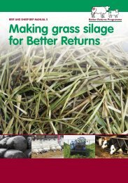 Making Grass Silage for Better Returns - Eblex