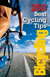250 Best Cycling Tips - Bicycling