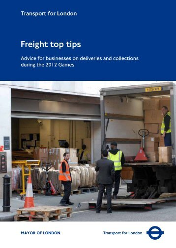 Freight top tips - Transport for London