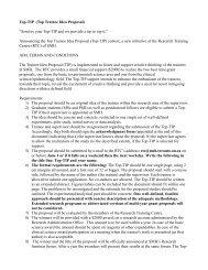Top-TIP acknowledgement form - St. Michael's Hospital