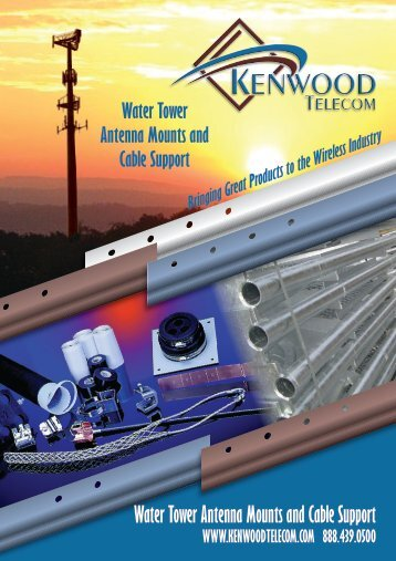 Water Tower Antenna Mounts and Cable Support - KENWOOD ...