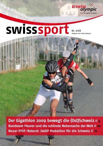 in unseren 80 AMAG RETAIL Betrieben der Schweiz - Swiss Olympic