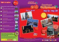Sights to explore - City Sightseeing